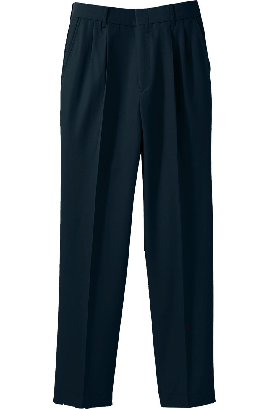 Edwards Garment 2620 - Men's Washable Wool Blend Pleated Pant