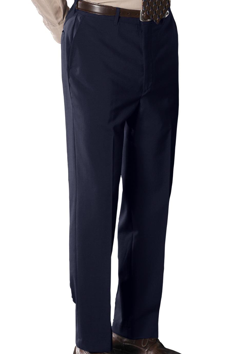 Edwards Garment 2780 - Men's Wool Blend Flat Front Pant