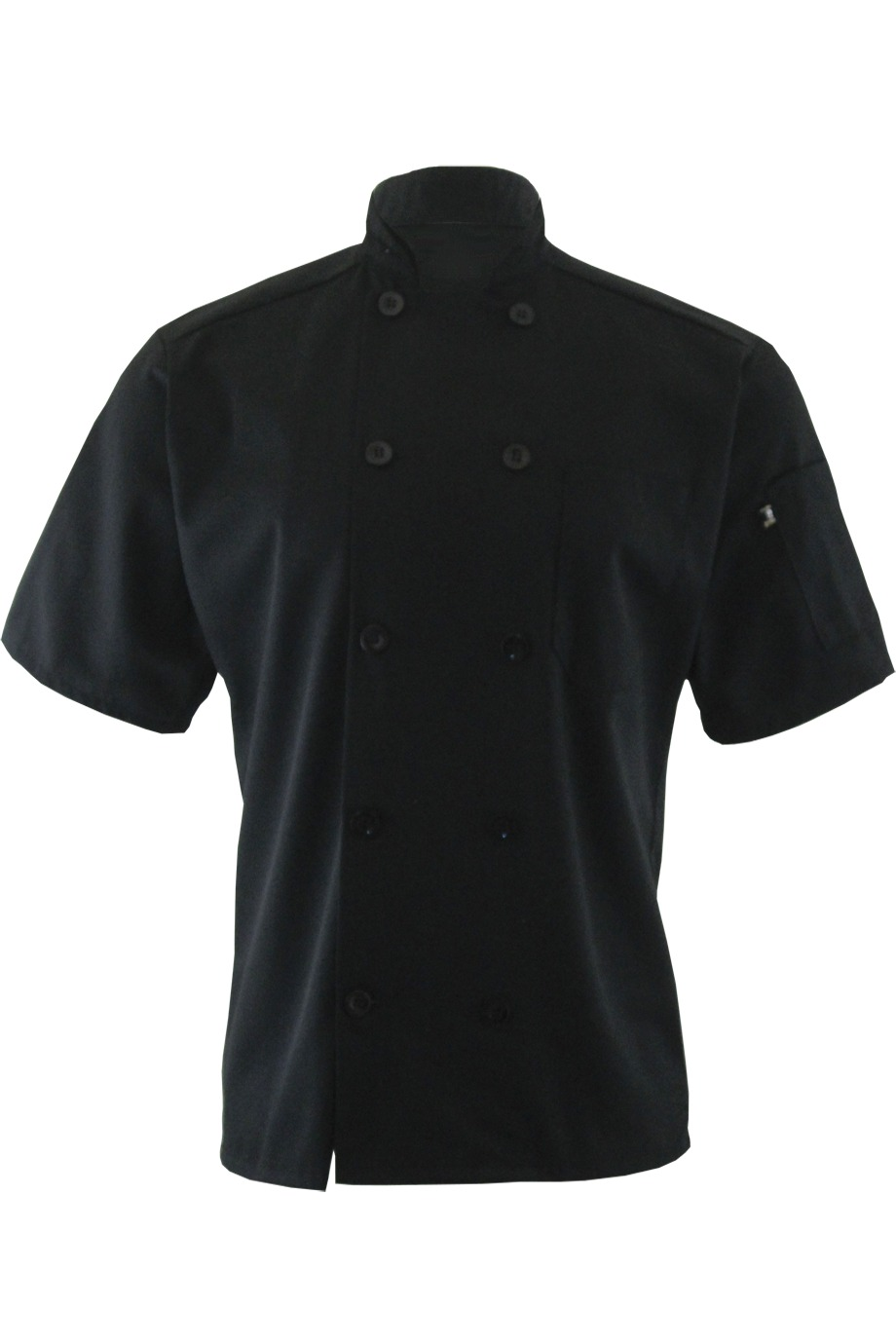 Edwards Garment 3306 - Casual 10 Button Short Sleeve Chef Coat