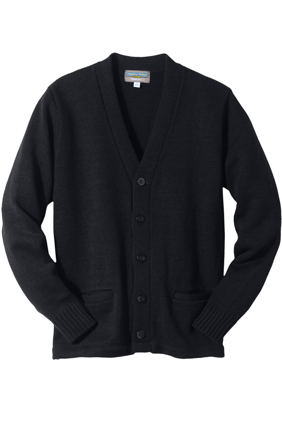 Edwards Garment 383 - Heavy Weight V-Neck Pocket Hemmed Cardigan