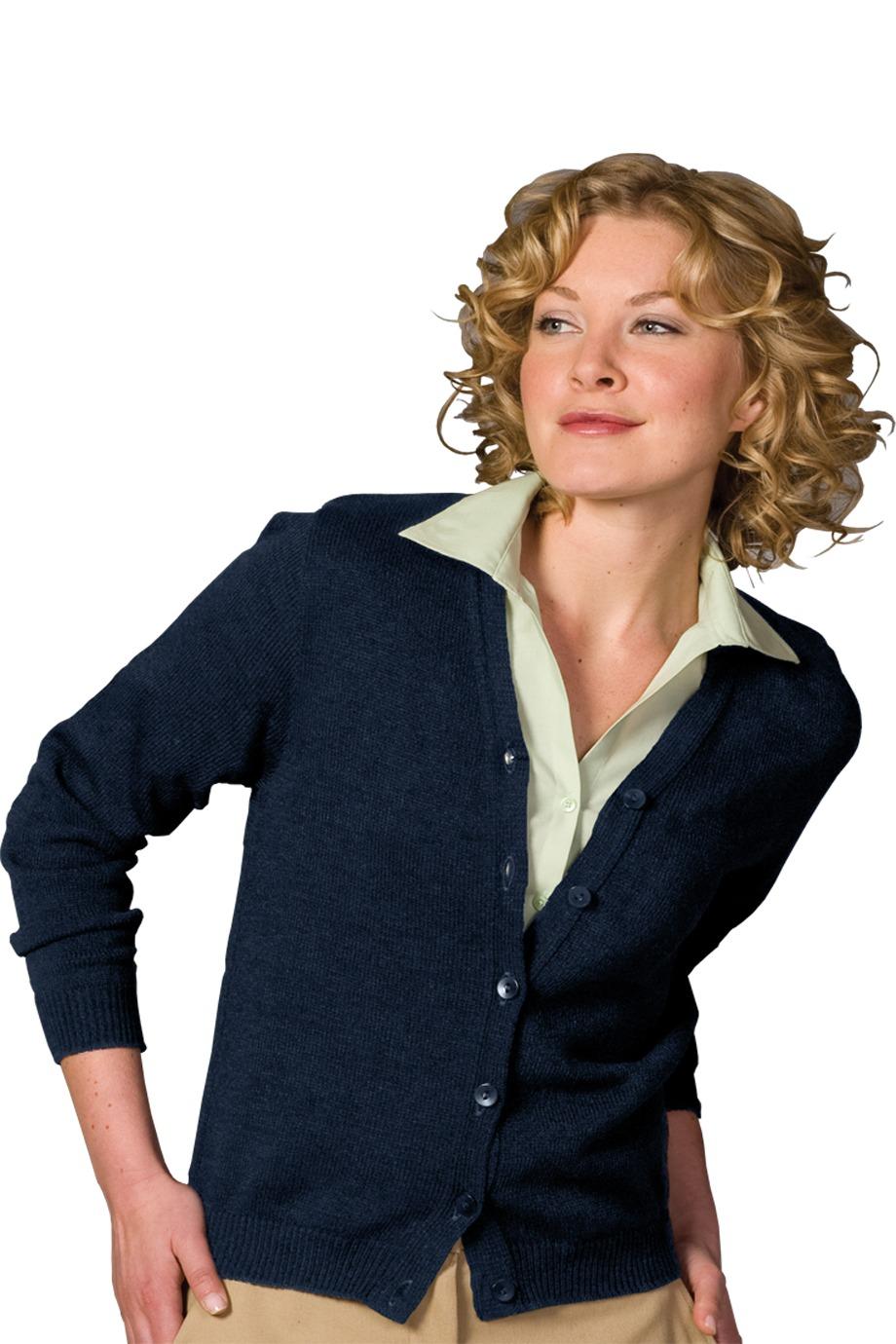 Edwards Garment 451 - Women's V-Neck Cardigan Vest