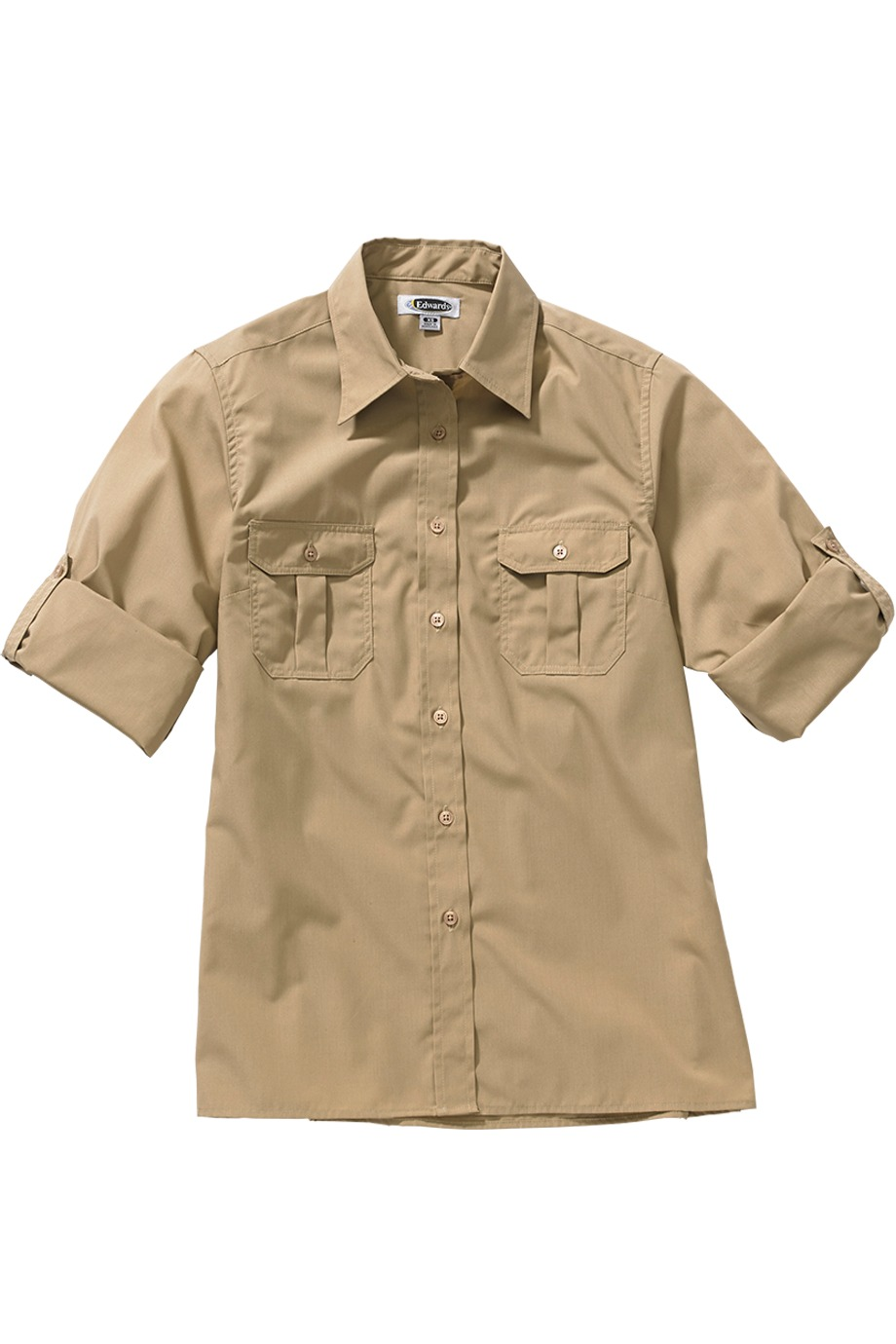 Edwards Garment 5288 - W Roll Sleeve Shirt