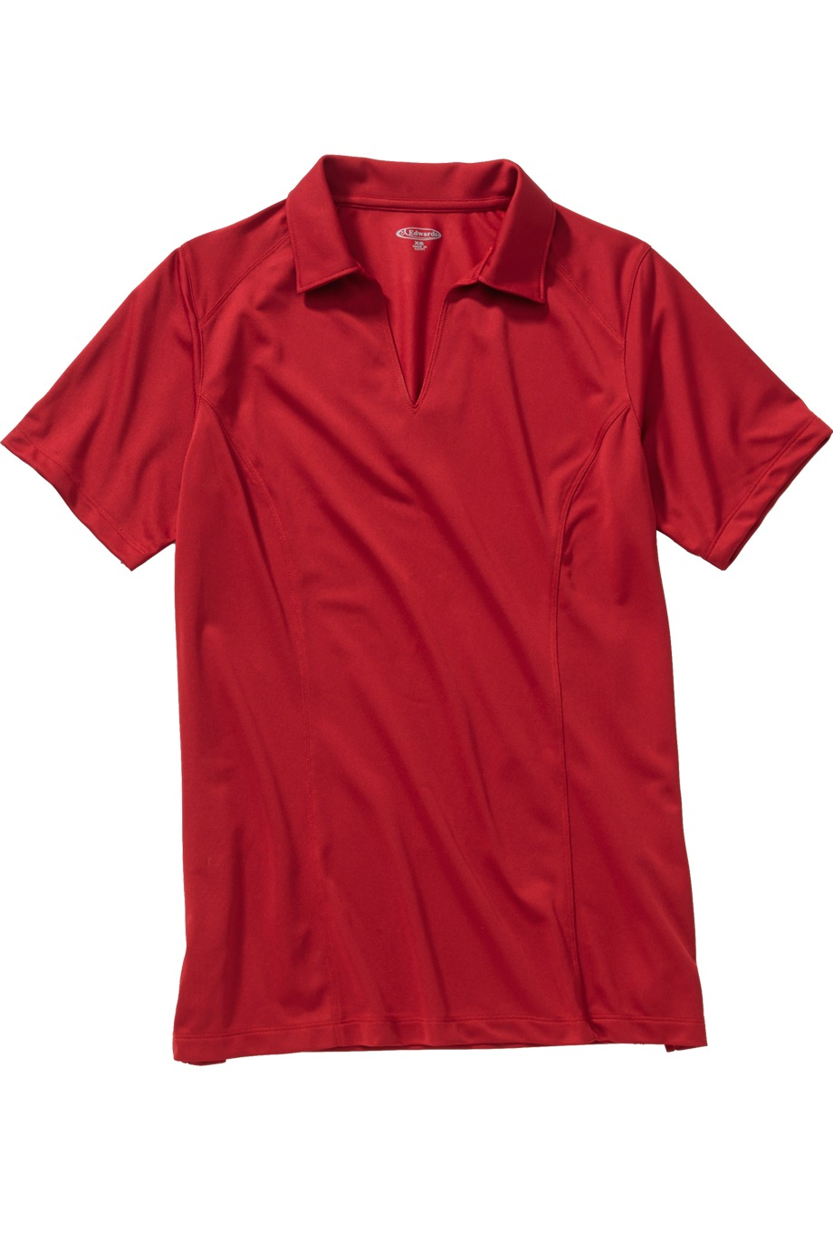 Edwards Garment 5516 - Ladies' Micro-Pique Polo With Self-Fabric Collar