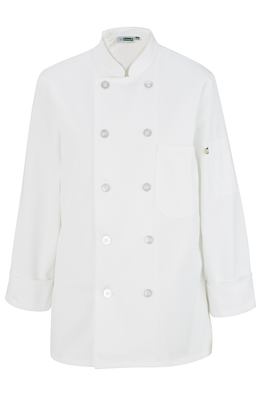 Edwards Garment 6301 - Women's Casual 10 Button Chef Coat