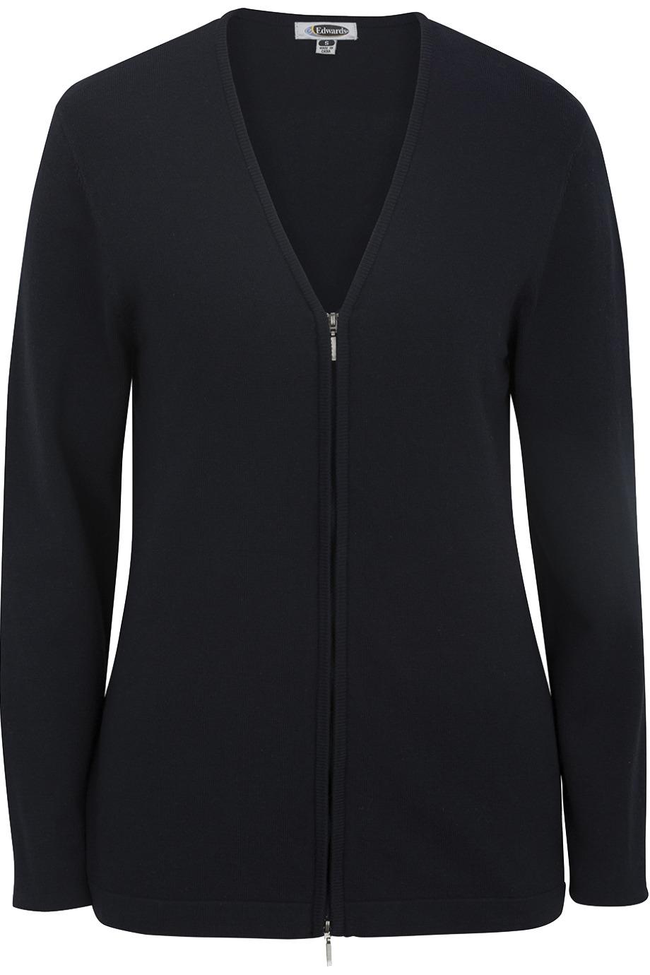 Edwards Garment 7062 - Ladies' V-Neck Cardigan