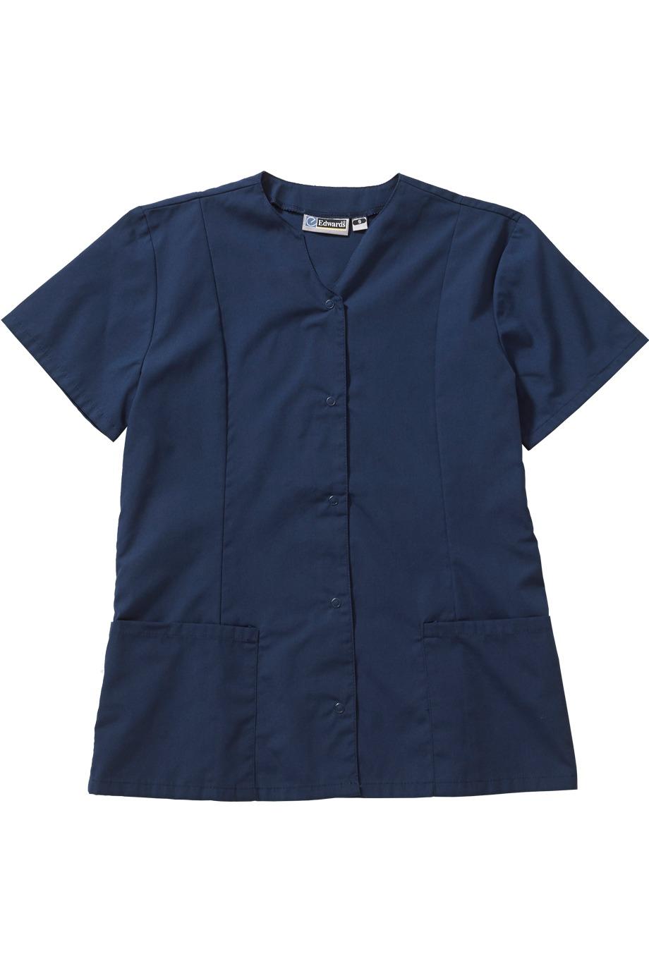 Edwards Garment 7889 - Scrub Zone Snap Front Tunic