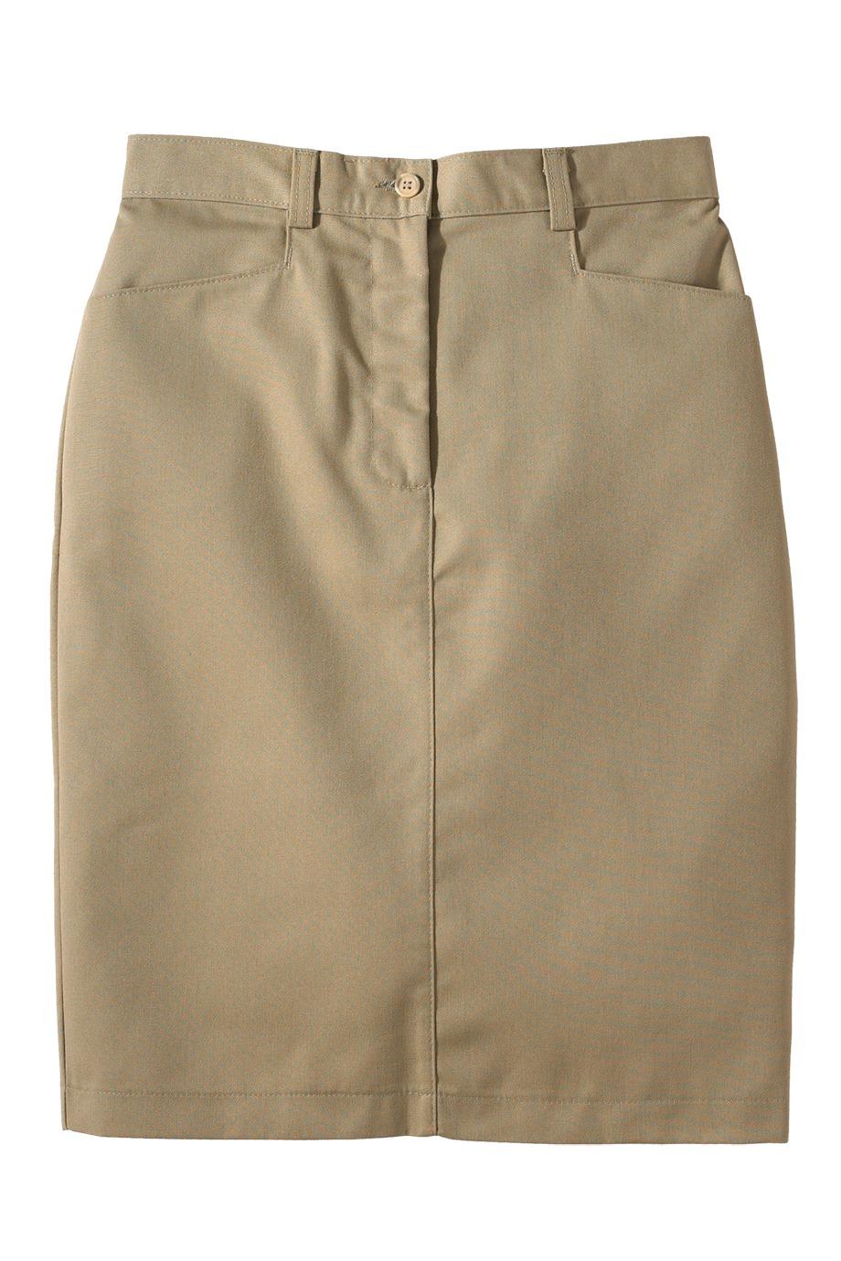 Edwards Garment 9711 - Women's Chino Skirt