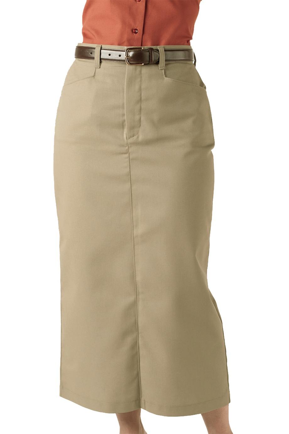 Edwards Garment 9779 - Women's Chino Skirt