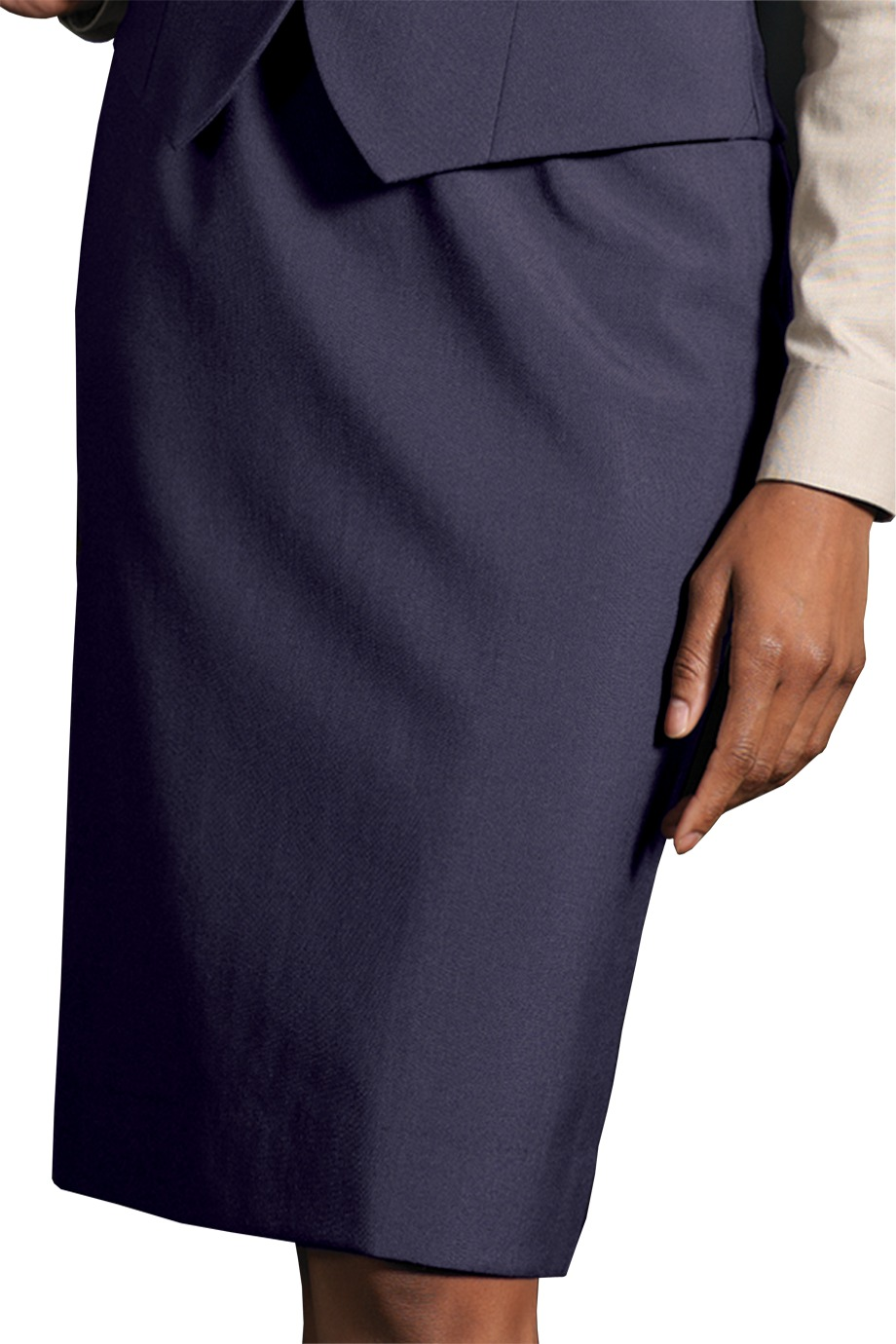 Edwards Garment 9789 - Women's Wool Blend Dress Skirt