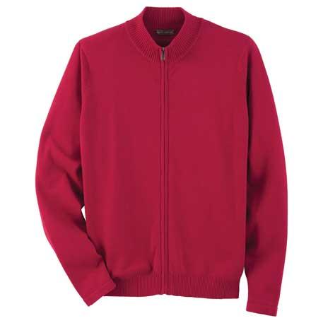 Elevate TM18605 - Men's Varna Full Zip Sweater