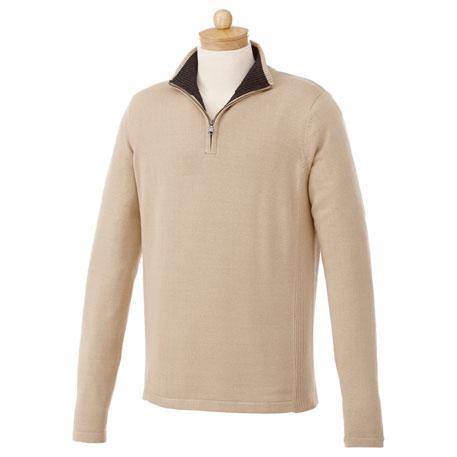 Elevate TM18607 - Men's Moreton Quarter Zip Sweater
