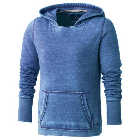 Elevate TM98403 - Women's Burnout Fleece Kanga Hoody