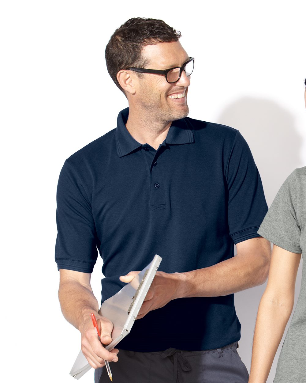 FeatherLite 0330 Short Sleeve Platinum Pique Sport Shirt