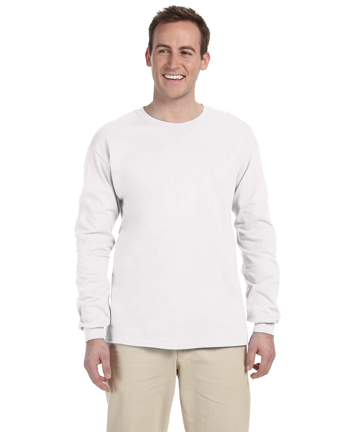 Fruit of the Loom Heavy Cotton Long-Sleeve T-Shirt 4930