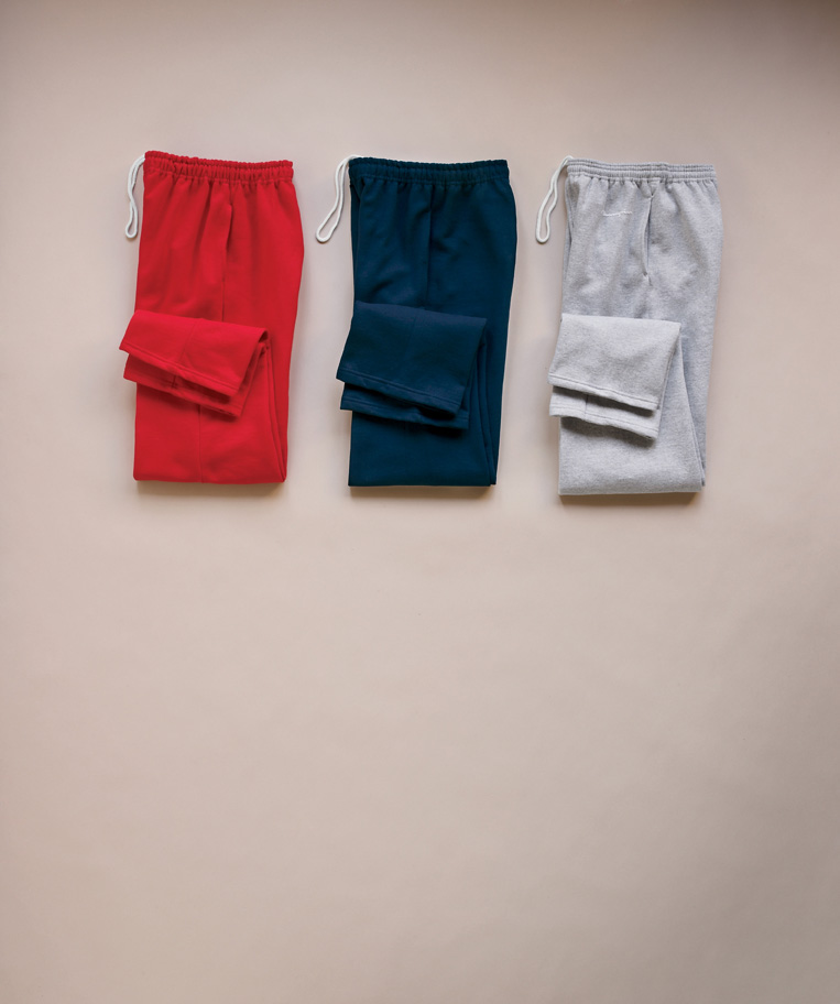 Gildan 12300  Ultra Blend Open Botton Pocketed Sweatpants