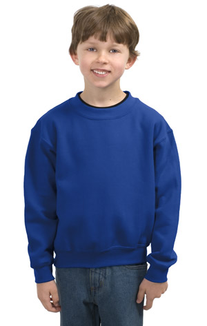 Gildan 18000B Heavy Blend Youth Crewneck Sweatshirt....