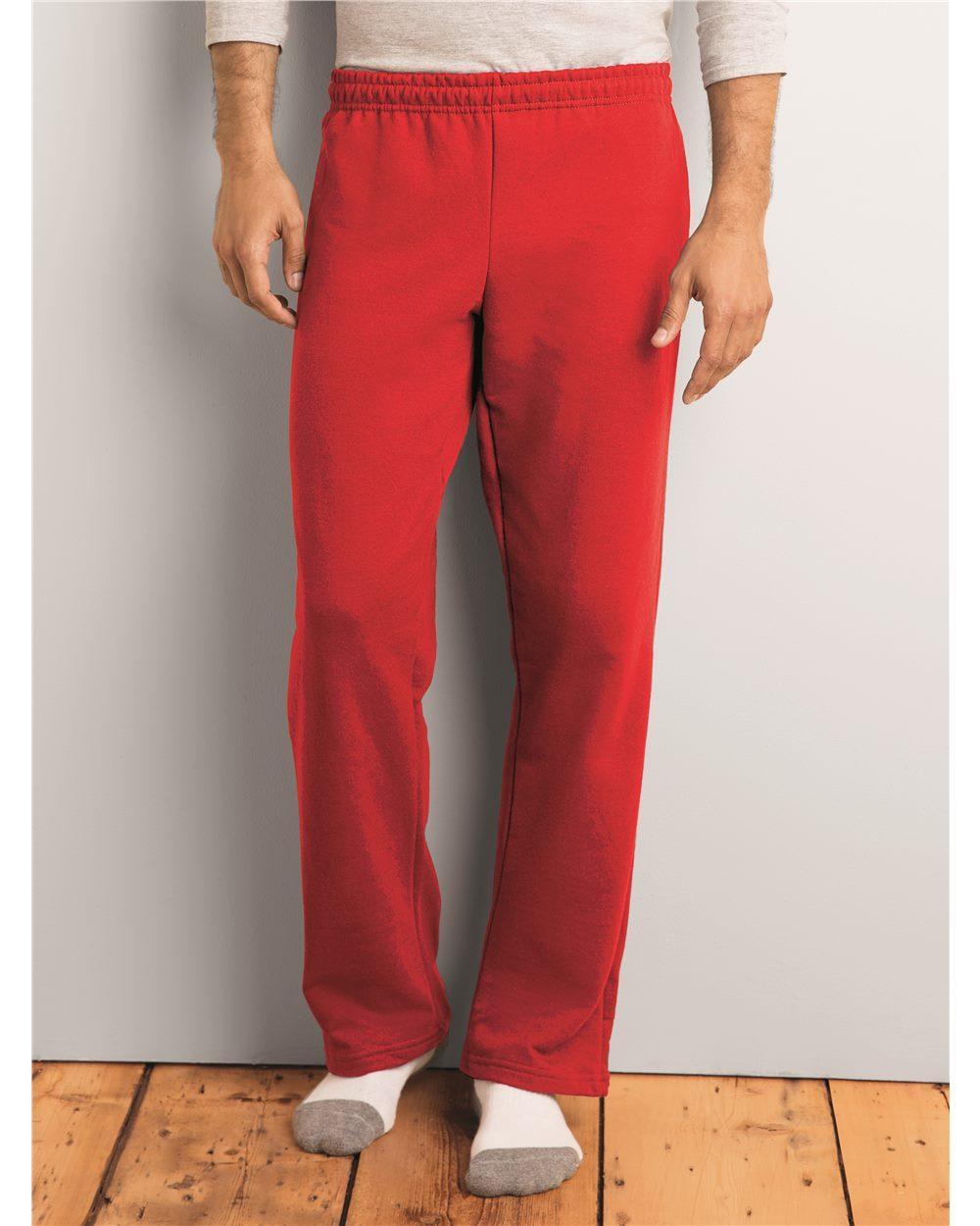Gildan 18400 Heavy Blend Open Bottom Sweatpants