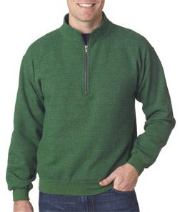 Gildan 18800 - Adult Heavy Blend Vintage 1/4-Zip Cadet Collar Sweatshirt