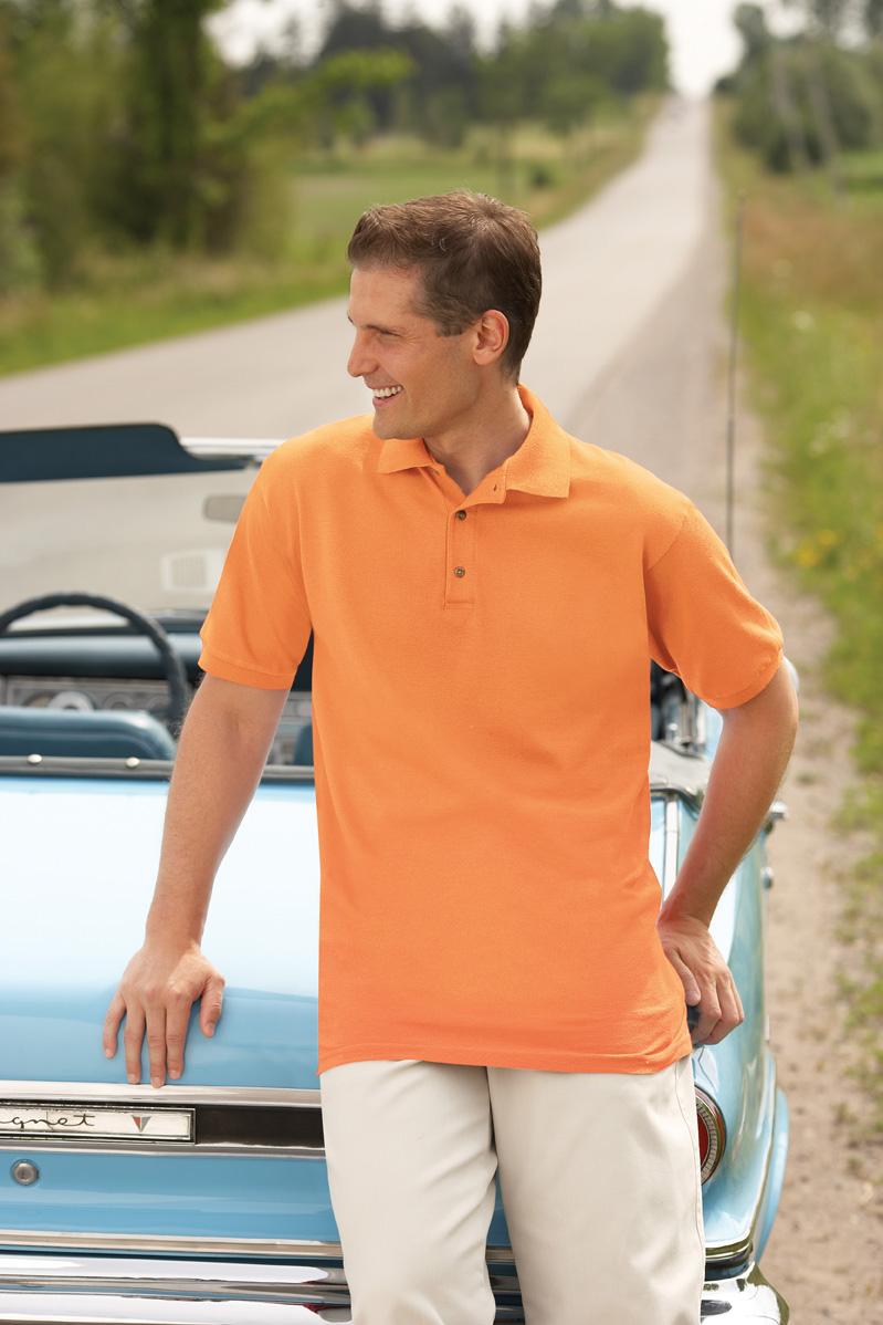 Gildan 3800  Ultra Cotton Ringspun Pique Sport Shirt