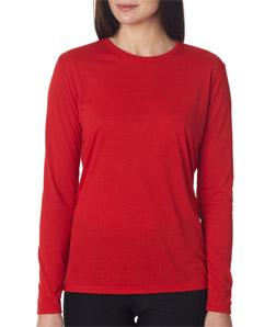 Gildan 42400L - Ladies' Performance Long-Sleeve T-Shirt