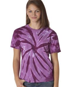 Gildan 77B - Tie-Dye Youth One-Color Pinwheel Tee