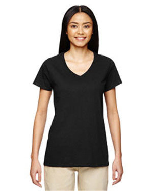 Gildan G500VL - Heavy Cotton Ladies' 5.3 oz. V-Neck ...