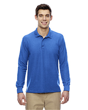 Gildan G729 - Drybelnd Double Pique Long Sleeve Polo