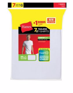 Hanes 2135C7 - Men's TAGLESS® Crewneck Undershirt ...