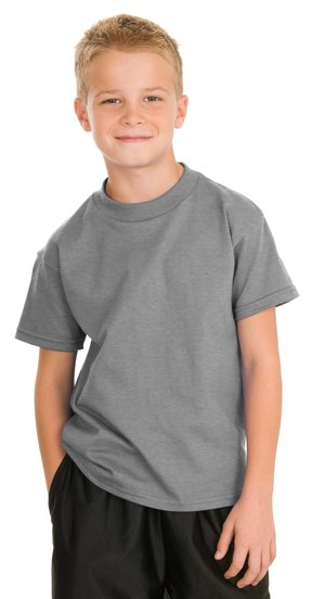 Hanes® 5450 Youth Tagless® 100% Cotton T-Shirt