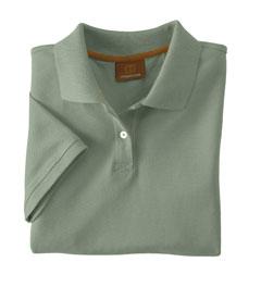 Harriton M100W  Women's Short-Sleeve Pique