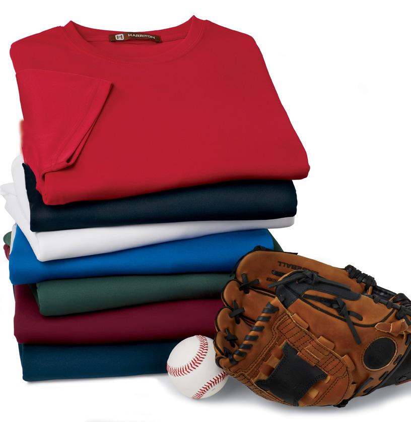 Harriton M320  Athletic Sport T-Shirt