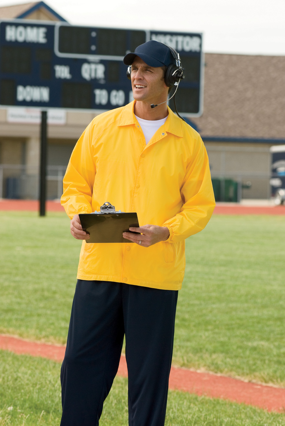 Harriton M775  Staff Jacket
