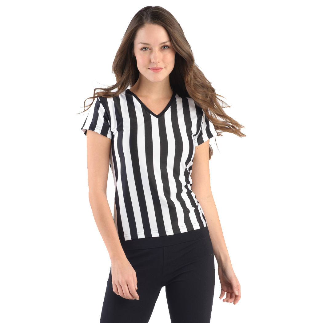 In Your Face B02 - Juniors Referee Shirt with V-Neck