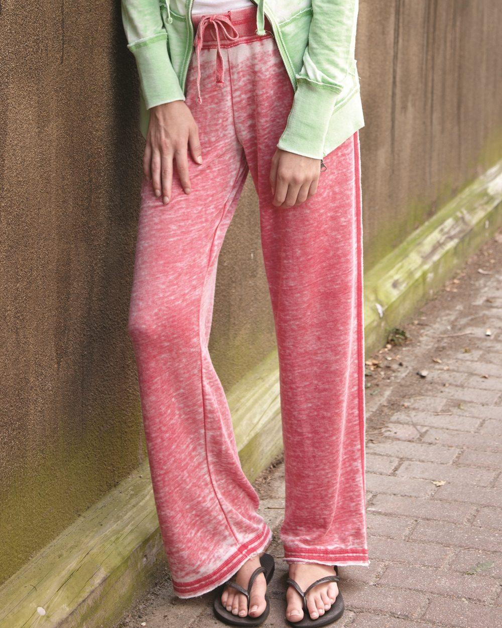 J. America 8914-Ladies Vanity Zen Fleece Sweatpant