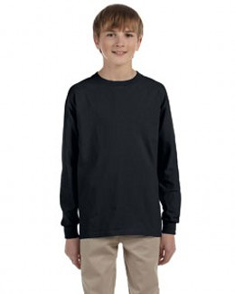 Jerzees 29BL  Youth Heavyweight Blend 5.6 oz., 50/50 Cotton/Poly Adult Long-Sleeve T-Shirt