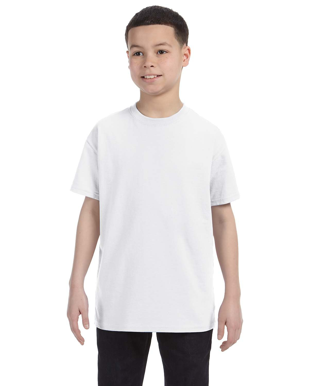 Jerzees 29B  Youth Heavyweight 5.6 oz., 50/50 Cotton/Poly T-Shirt