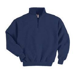 Jerzees 4528M  Super Sweats 1/4 zip pullover sweatshirt