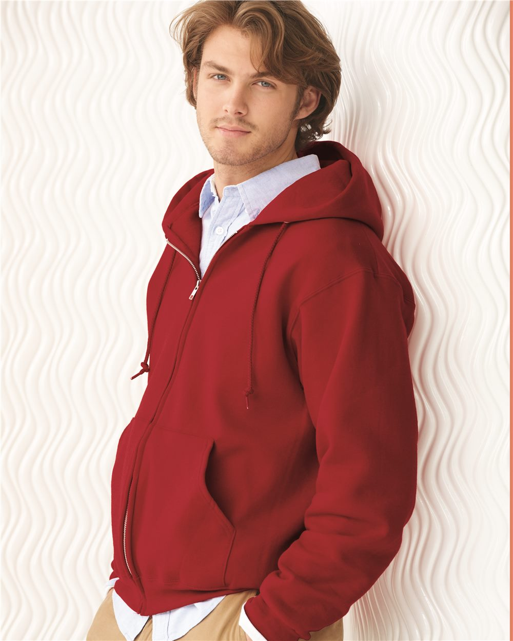 JERZEES 4999M NuBlend SUPER SWEATS Full-Zip Hooded Sweatshirt