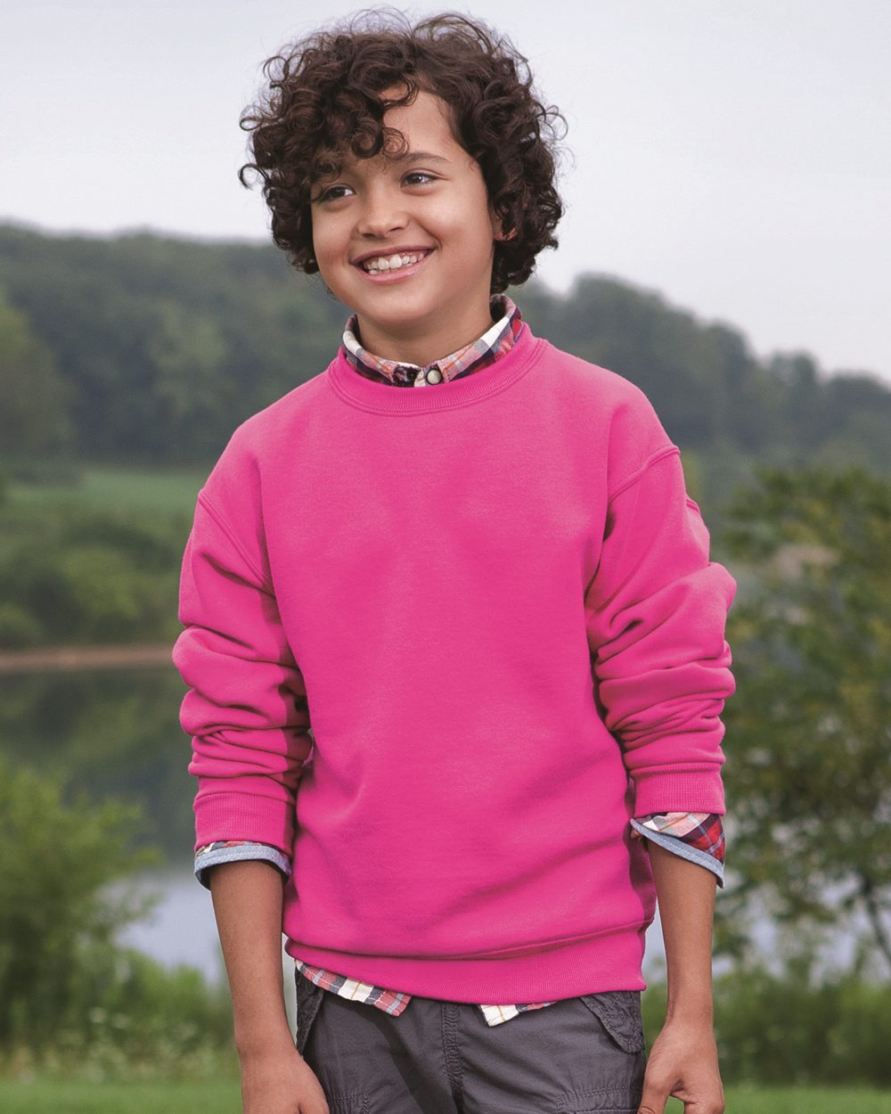 JERZEES 562BR - NuBlend Youth Crewneck Sweatshirt