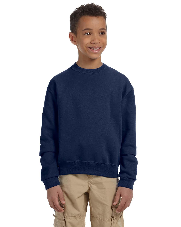 Jerzees 562B NuBlend Youth Crewneck Sweatshirt