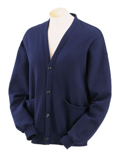 Jerzees 773MP  8 oz., 50/50 Four-Button Cardigan