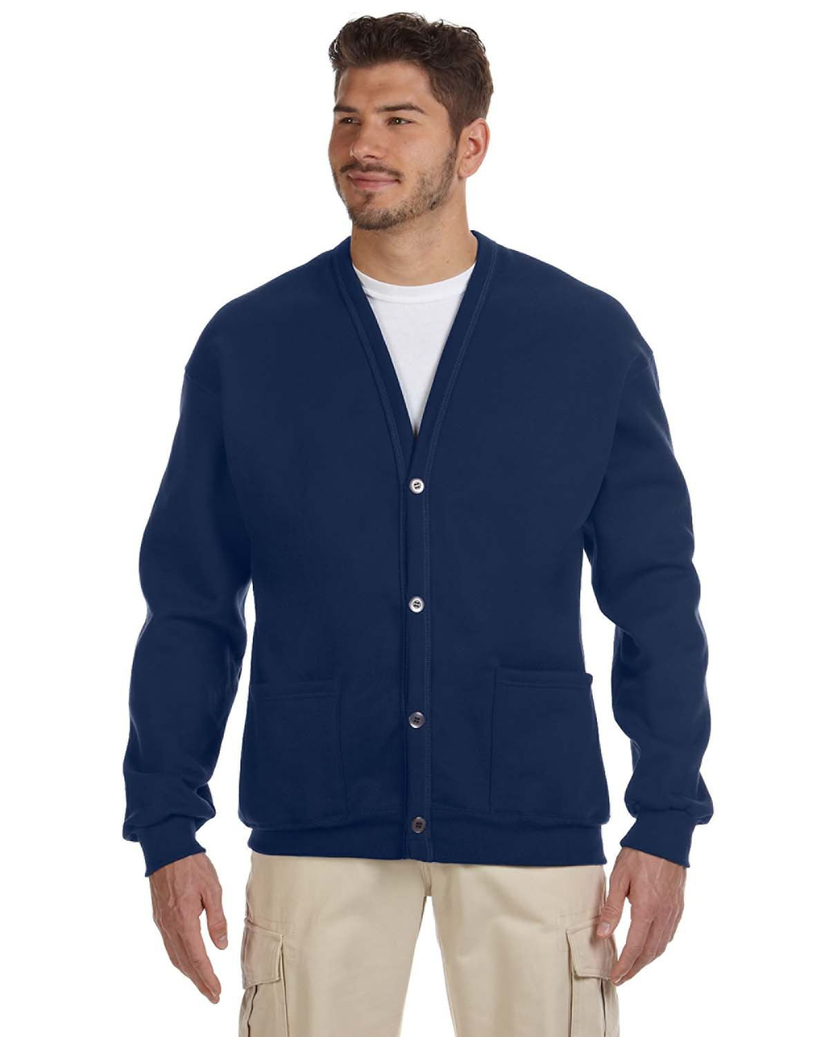 Jerzees 773M - 8 oz., 50/50 NuBlend Cardigan