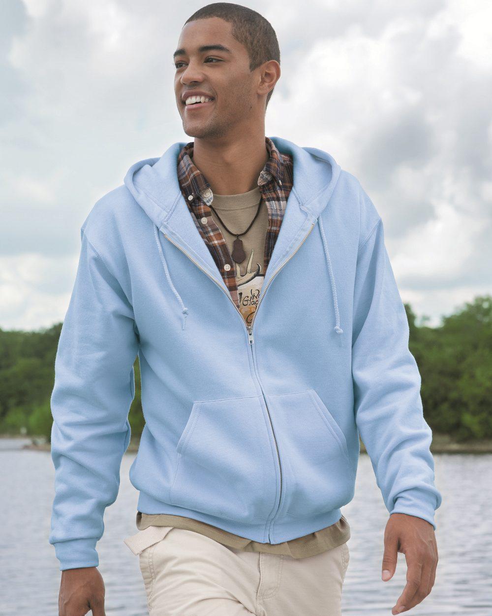 JERZEES 993MR - NuBlend Full-Zip Hooded Sweatshirt