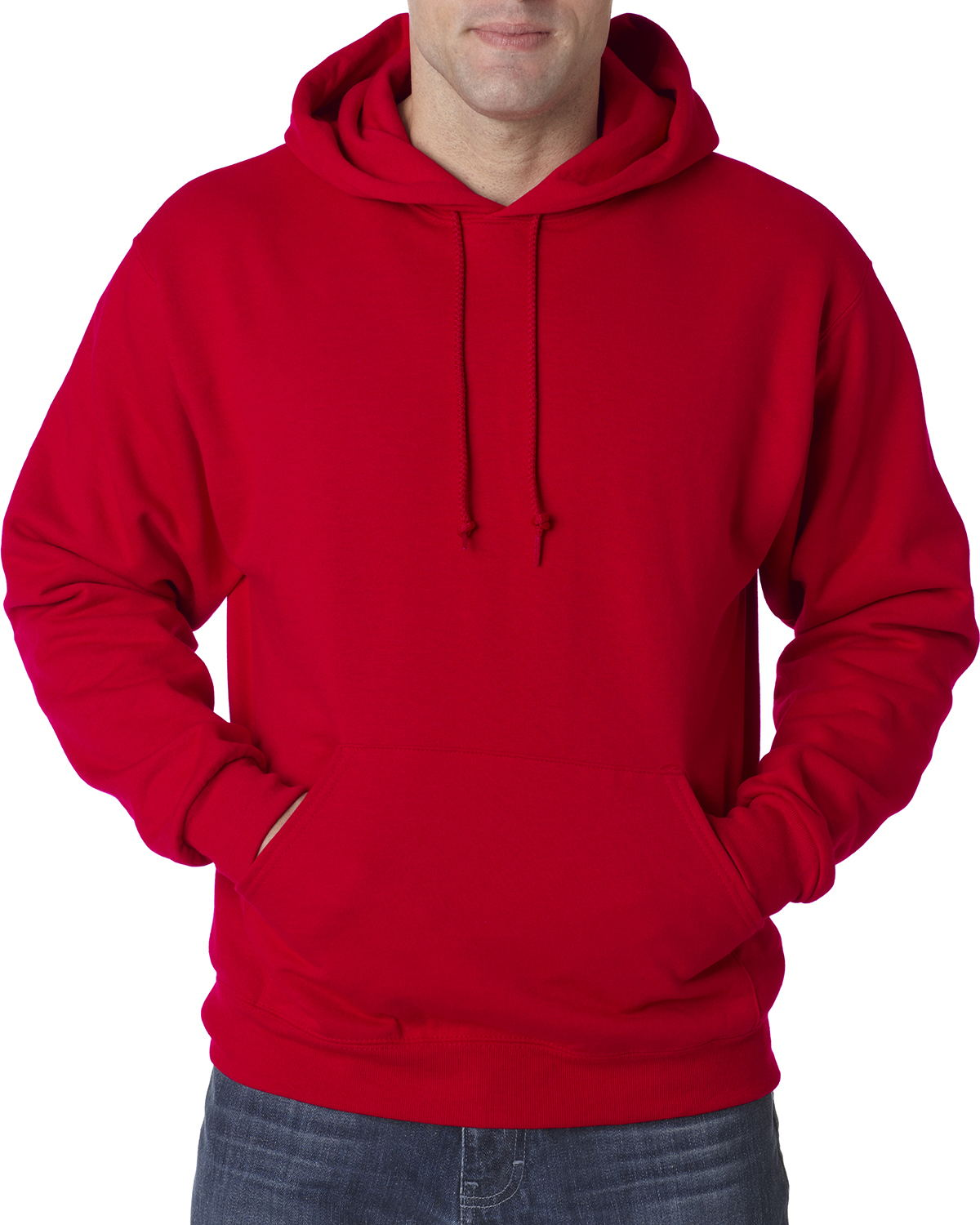 JERZEES 50/50 Hooded Pullover Sweatshirt Tall Sizes ...