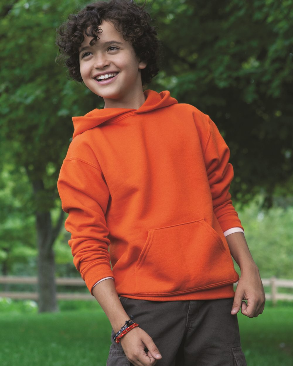 JERZEES 996YR - NuBlend Youth Hooded Sweatshirt