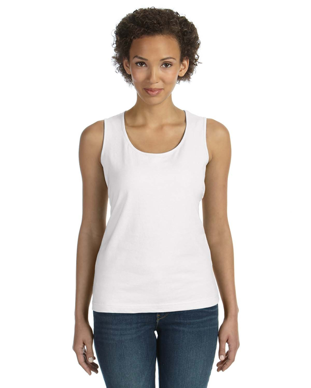 LAT 3590 - Ladies' Scoop Neck Jersey Tank