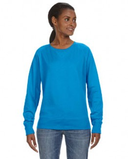 LAT Ladies' French Terry Slouchy Pullover - 3762