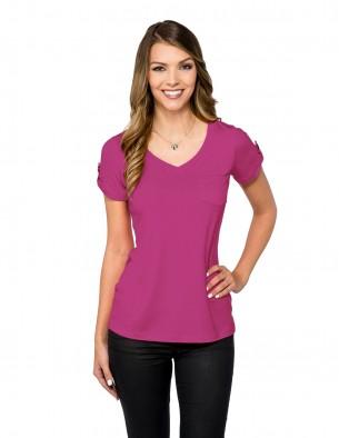 Lilac Bloom LB002 - Women's short sleeve shirt
