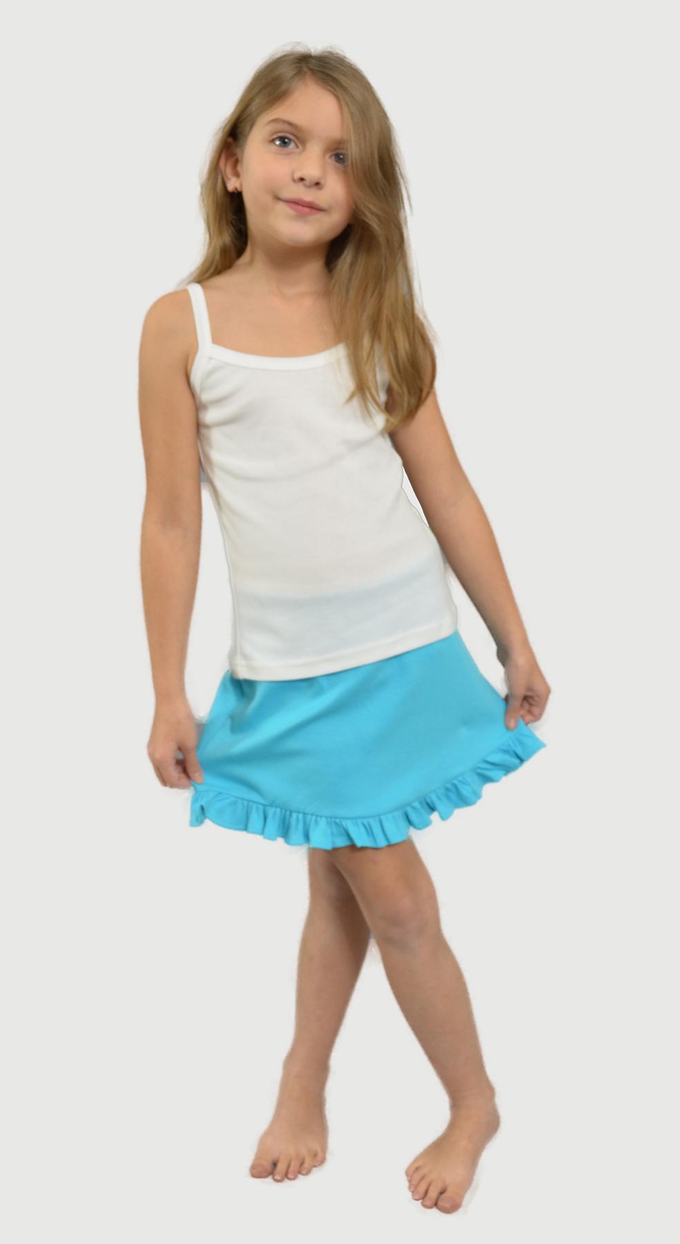 Monag 100310 - Interlock Frill Bottom Skirt