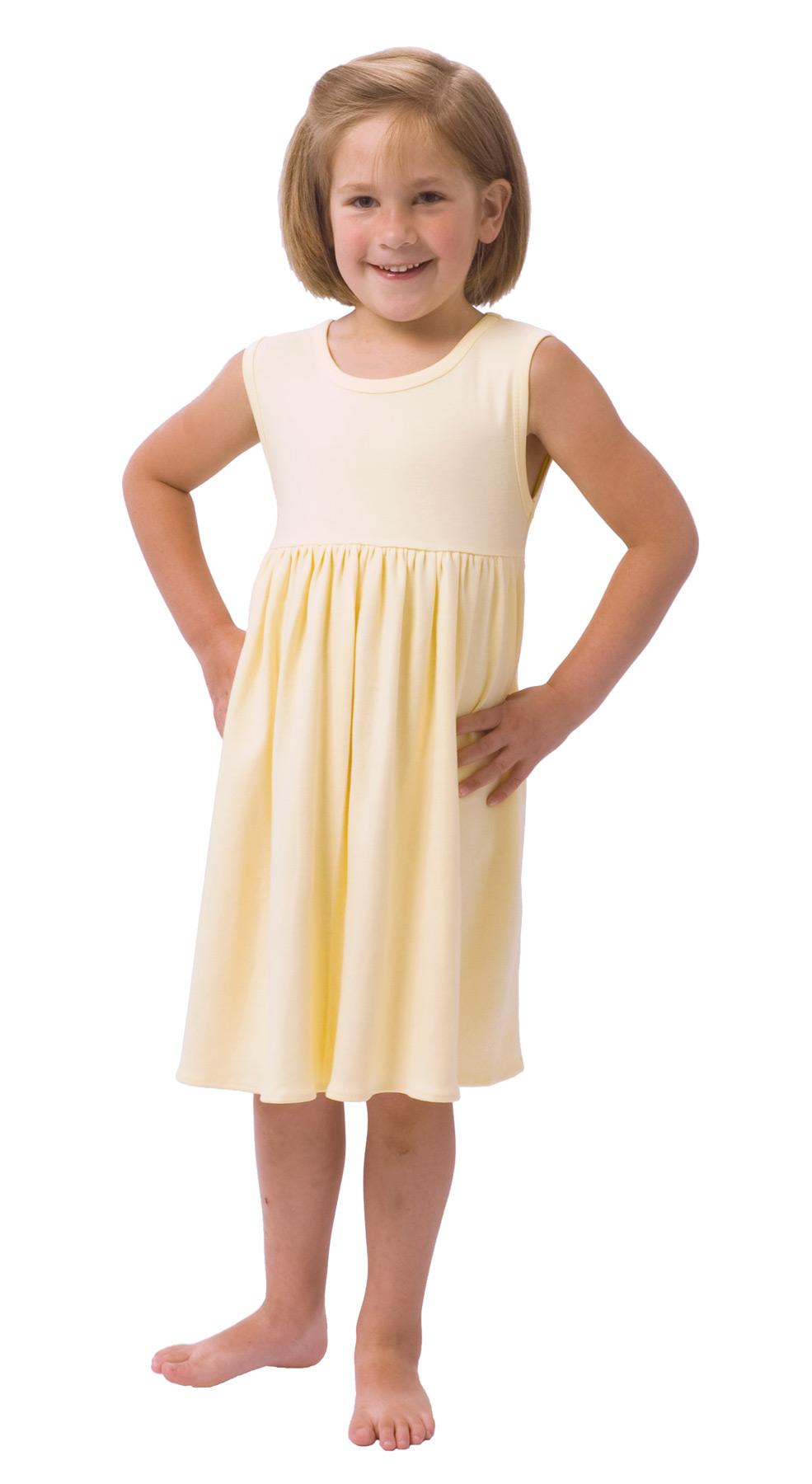 Monag 400114 - Interlock Sleeveless Empire Dress